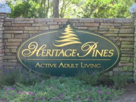 Heritage Pines Neighborhood Entrance
