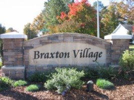Welcome to Braxton Village Holly Springs, NC
