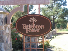 Brighton Forest Entrance to Community Fuquay Varina