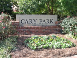Cary_Park_Sign