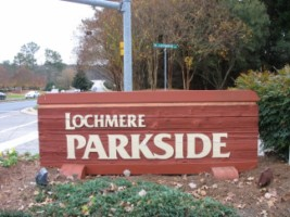 Lochmere Parkside Entrance
