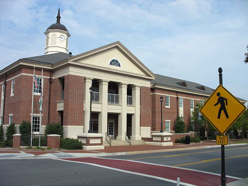Holly Springs Town Hall