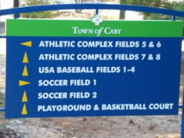 Thomas Brooks Park in Cary